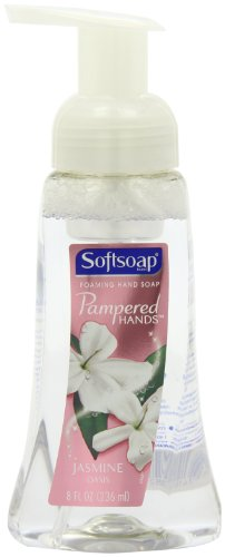 Softsoap Pampered Hands Jasmine Oasis - Foaming Hand Soap, 8 Ounce