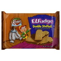 Keebler E.L. Fudge Sandwich Cookies, Double Stuffed,12oz, (pack of 2)