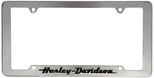 Chroma Graphics 6305 Auto Tag Harly W/Blk Letr (License Plate Frame Harley compare prices)