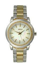 DKNY 3-Hand with Glitz Two-tone Women's watch #NY8674