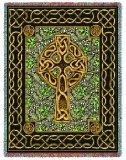 Celtic Cross Throw - 70 x 53 Blanket/Throw
