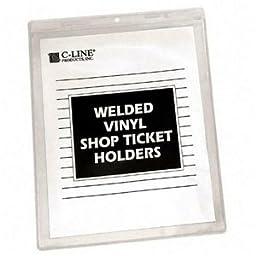 CLI80911 - C-line Vinyl Shop Ticket Holder