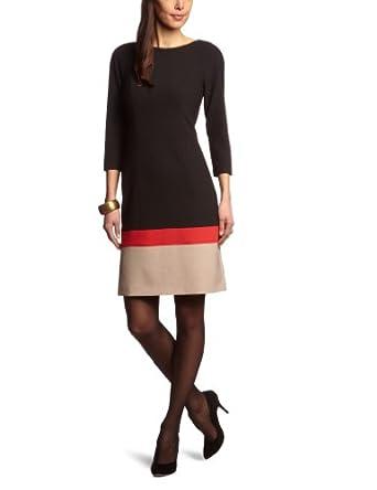oliver selection damen kleid knielang gr 40. Black Bedroom Furniture Sets. Home Design Ideas