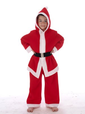 Child's Santa Father Christmas Xmas Costume 7-9