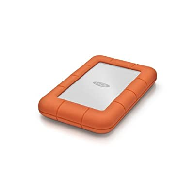 LaCie 500GB Mini Rugged USB 3.0 / USB 2.0 Mobile Disk Drive