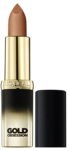 L'Oréal Make Up Designer Paris Color Riche Gold Obsession Rossetto, Nude Gold