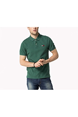 Tommy Hilfiger -  Polo  - Uomo verde Large