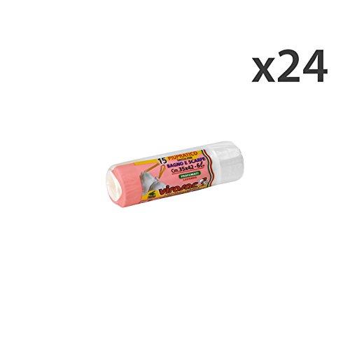 Set 24 Sacchi 35x42 Scarpe -Bagno * 15 Pezzi VIROSAC Riordino