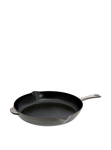 Staub Fry Pan, Graphite Grey, 12 - Graphite Grey
