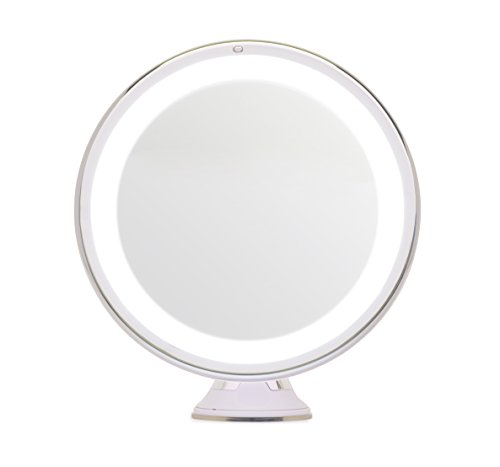 mirrorvana-8-inch-diameter-5x-magnifying-led-lighted-vanity-makeup-mirror