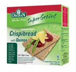 Orgran Crispbread Quinoa 125g