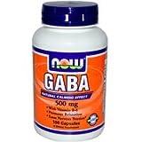 [海外直送品] ナウフーズ(Now Foods) ギャバ(GABA) 500mg 100カプセル