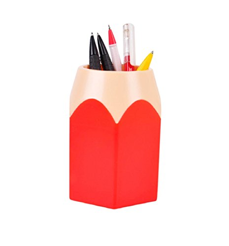 bleistift-spitzen-stifthalter-tonsee-make-up-pinsel-vase-pencil-pot-schreibwaren-lagerungrot