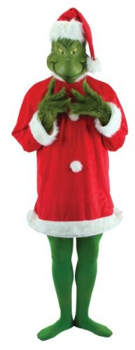 Costumes For All Occasions EL400636 Grinch Deluxe Lg-Xl
