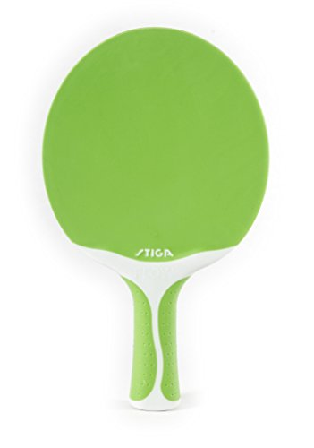 Stiga Flow Table Tennis Racket, Green/White