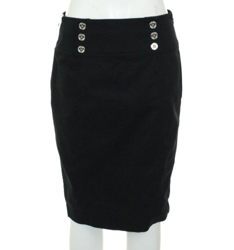 Lauren Ralph Lauren Pencil Skirt Black 2P Image
