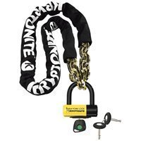 Kryptonite New York Fahgettaboutit 1410 Chain Bicycle Lock with New York Disc 3 Lock Chain Bicycle Lock