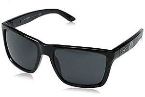 Arnette Men's Witch Doctor AN4177-225887-59 Black Square Sunglasses