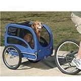 Solvit 62303 Track'r Bicycle Pet Trailer, Medium