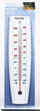 Taylor Precision 5109 Jumbo Indoor/Outdoor Wall Thermometer