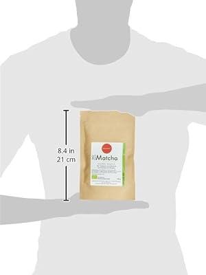 Quertee Bio - Matcha Pulver Tee - 100 g im Zip-Beutel zum Kochen, Backen, Cocktails, Mixgetränke, 1er Pack (1 x 100 g) von Quertee - Gewürze Shop