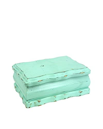 Uptown Down Vintage Jewelry Box, Turquoise