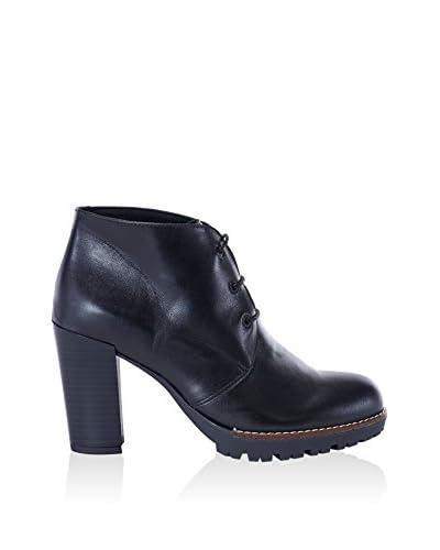 UMA Zapatos abotinados Anastasia Negro