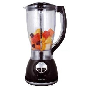Lloytron 500W Blender with Grinder Attachment  2L  Black