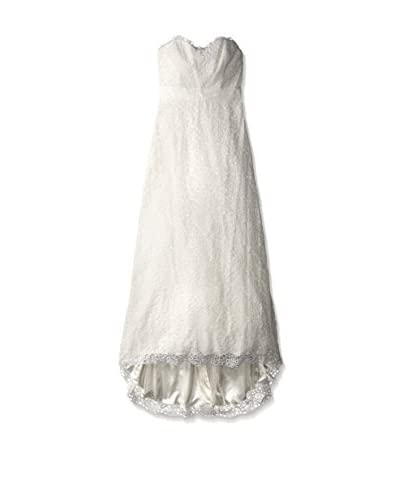 Nicole Miller Women's Victoria Embroidered Organza Gown