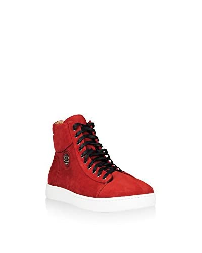 Hemsted & Sons Sneaker Alta M00238  [Rosso]