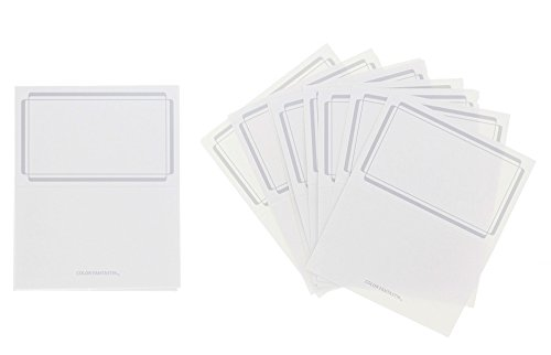 Wedding Place Cards (Silver) (Seating Place Cards compare prices)