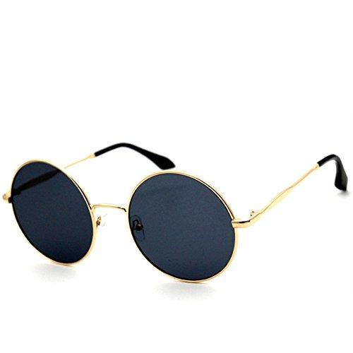 HelloKiti 2015 New Style Round Metal Vintage Uni-sex Europe America Fashion Sunglasses£¨C1£©