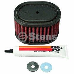 Stens # 050-800 K & N Air Filter For Honda 17210-Ze1-517, Honda 17210-Ze1-822, Honda 17210-Ze1-507, Honda 17210-Ze1-505, Honda 17210-Ze1-820, K & N E-4516, Lesco 050625, Wacker 0217458, Wacker 217458Honda 17210-Ze1-517, Honda 17210-Ze1-822, Honda 17210-Ze