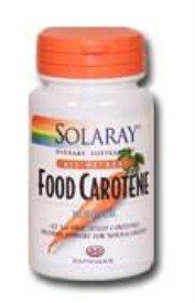 Food Carotene ( 10000 iu & 25000iu ) ( Capsules & Softgels ) Solaray
