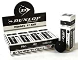 Dunlop Competition Squash Balls (3 ball boxes) Dozen Balls
