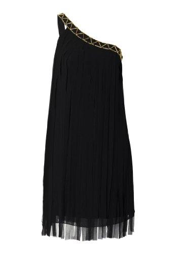 APART Fashion Chiffonkleid-schwarz-Gr.40