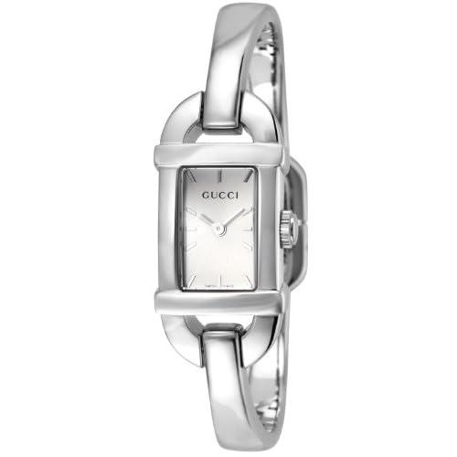 [グッチ]GUCCI 腕時計 6800 シルバー文字盤 YA068580 レディース 【並行輸入品】