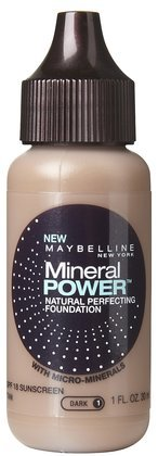 Maybelline Mineral Power Liquid Foundation-Tan (Quantity of 4)