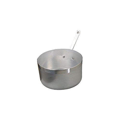 Pentole Agnelli Casseruola Alta, in Alluminio BLTF, con Manico in Acciaio Inossidabile, Argento, 1.5 Litri