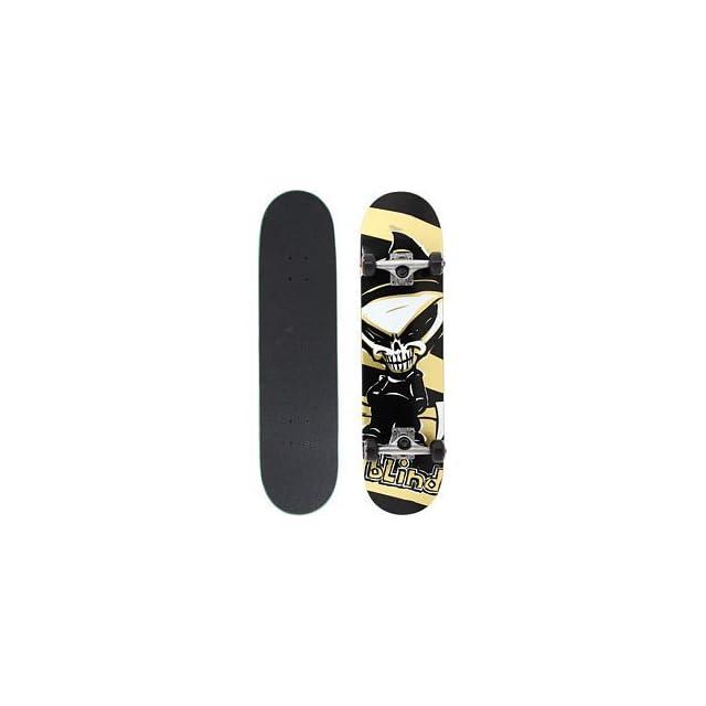 Blind Reaper Gold 7.75 Skateboard Deck Complete