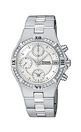 Pulsar's Ladies' Crystal Collection watch #PF8211