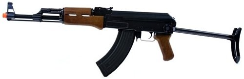 410 FPS JG Airsoft Full Metal Gearbox AK47S Airsoft AEG Rifle w/ Folding Stock - 2011 Enhanced Production Run Model