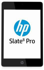 HP Slate 8 Pro 7600eg 20,3 cm (8 Zoll) Tablet-PC (NVIDIA Tegra4 T40 A15, 1,8GHz, 1GB RAM, 16GB HDD, Android 4.2) weiß