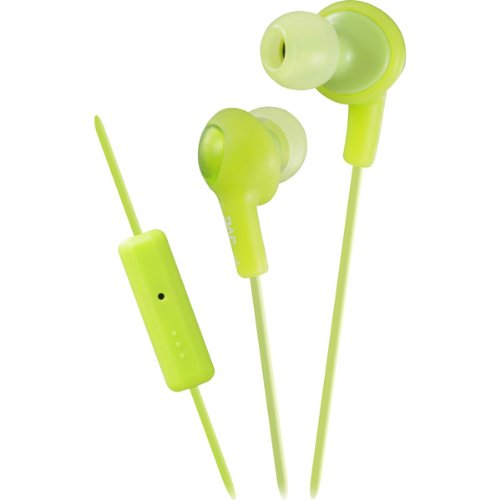 Gumy Plus In-Ear Headphones With Remote And Mic-Green