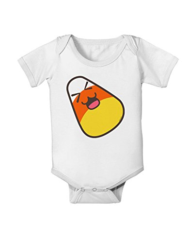 TooLoud Cute Father Candy Corn Family Halloween Baby Romper Bodysuit