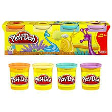 Play-doh Pastel Colors - 4 Pack