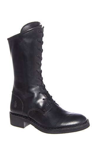 Fayl Low Heel Mid Calf Boot