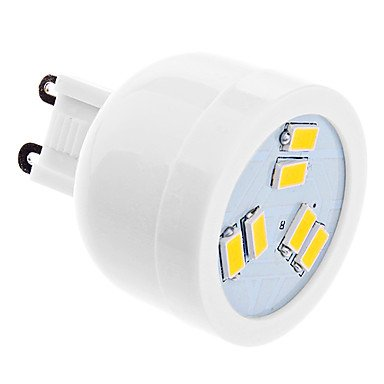 G9 2W 6Xsmd5630 180-220Lm 2500-3500K Warm White Light Led Spot Bulb (220-240V)
