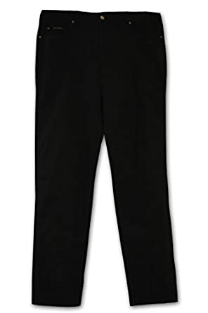 Grand River Big and Tall Stretch Demin Jeans - Black
