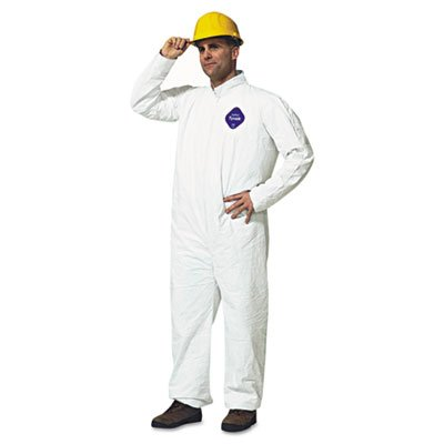 E.I. Dupont De Nemours Industrial Use Tyvek� Coveralls With Open Wrists And Ankles. Includes 25 Coveralls. Manufacturer Part Number: Dup Ty120Sm